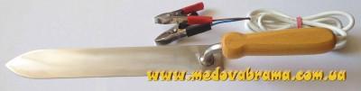 Как сделать электрический нож для распечатывания сот